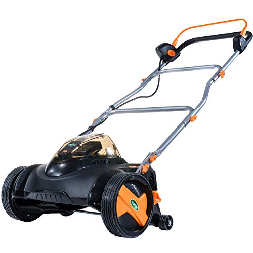 Scotts Outdoor Power Tools 2020-16S 20-Volt 16-Inch Electric Cordless Reel Lawn Mower, 2.0Ah Battery & Fast Charger Included
