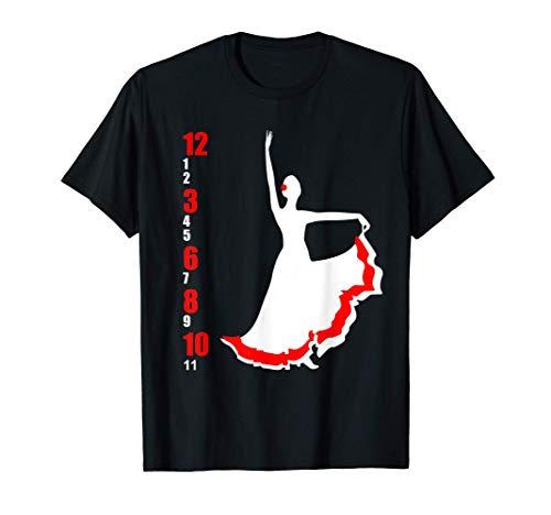 Baile flamenco | Bailarina de flamenco Española Camiseta