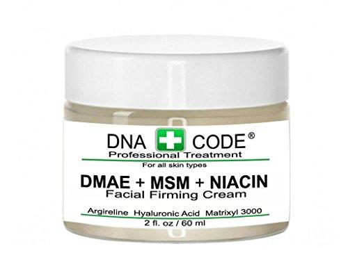ANTI-AGING- MAGIC DMAE+MSM+NIACIN Firming Cream, 100% Pure Hyaluronic Acid, Argireline, Matrixyl 3000