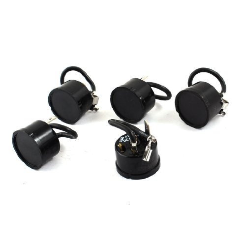5 x Round Shell Overload Thermal Protector Relay Starter for 1//6HP Fridge