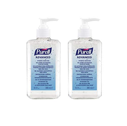 PURELL Advanced Hand Sanitizer Gel 350ml (Pack of 2) by Purell