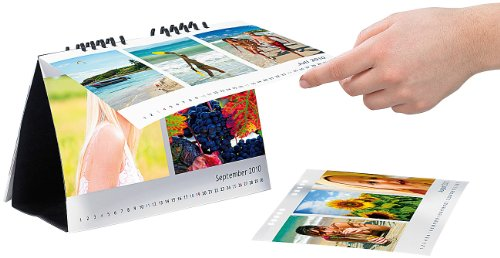Your Design Bastelkalender: Tischkalender-Set A5 quer 260g/m² inkl. Software (Kalender Set)