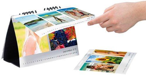 Your Design Kalender Set: Tischkalender A5 quer 260g/m² (DIY-Kalender)