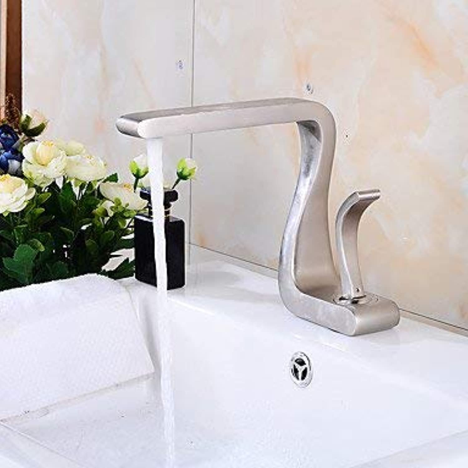 YI KUI Basin Faucets Faucet Single Handle Toilet Waterfall Bathroom Sink Faucet
