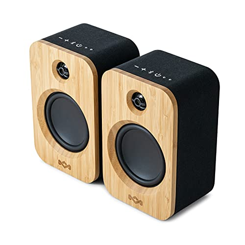 House of Marley Deux enceintes bluetooth Get Together Duo – Enceintes bibliothèques stereo -...
