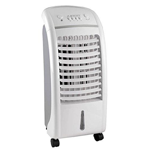 Jocel JCA002105 Climatizador de Aire, 65 W, Plástico, 3 Velocidades, Blanco y Gris
