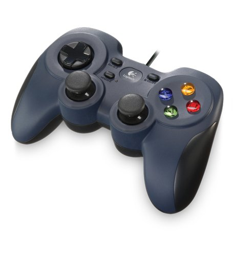 Logitech Gamepad F310 USB Controller for PC (Navy Black)