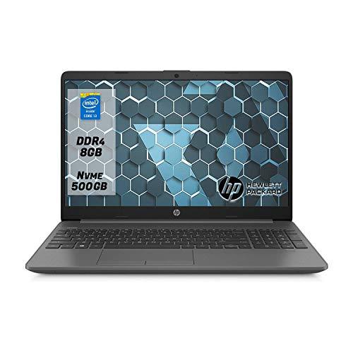 "Hp 250 g7 Notebook Pc portatile intel core i3-1005G1, Ram 8Gb Ddr4,Ssd M.2 500 Gb ,Display 15.6""Hd antiriflesso,Windows 10 Professional"