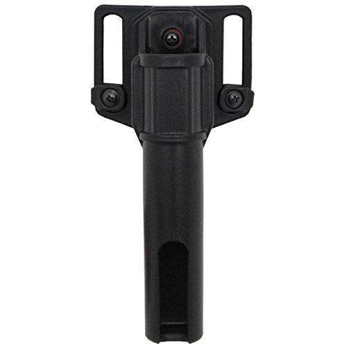 MFH Schlagstock drehbar passend für Teleskopschlagstock Holster Etui Holster Schlagstockhalter Schwarz verschiedene Größen (16 cm für 26 Zoll)