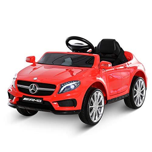 HOMCOM Coche Eléctrico para Niño 3+ Años Automóviles Infantiles Mercedes Benz GLA...