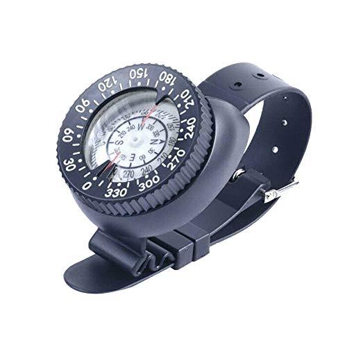 KingbeefLIU Reloj Reloj De Pulsera Estilo Impermeable Brújula De Buceo Natación Deporte Acuático Navegación