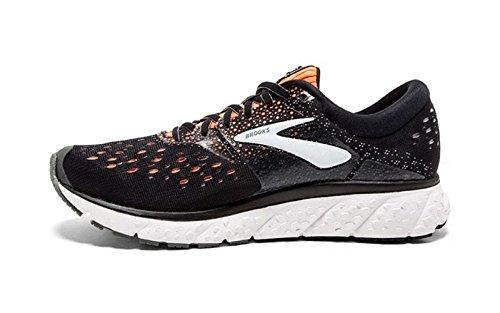 Brooks Mens Glycerin 16 Running Shoe - Grey/Navy/Black - 2E - 8.5