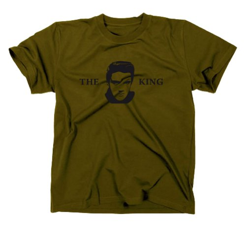 Elvis Presley The King T-Shirt Fanshirt, L