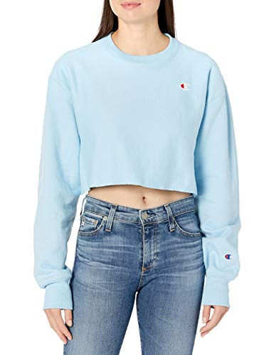 Champion LIFE Women's Crop, Candid Blue, Large