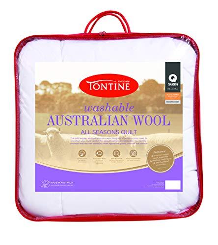 Tontine Washable Australian Wool Quilt, Queen