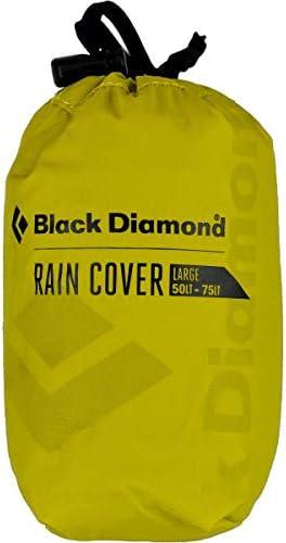 Zwarte Diamond Unisexs RAINCOVER 30L55L Rugzak Pack Covers Zwavel MED