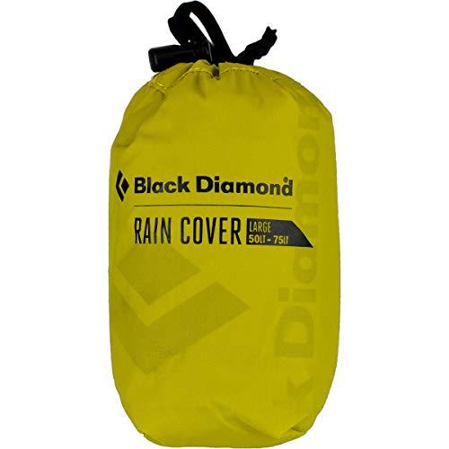 Black Diamond RAINCOVER 18L-35L Housses de Sac à Dos de randonnée Mixte Adulte, Jaune (Sulfur), S (18L-35L)