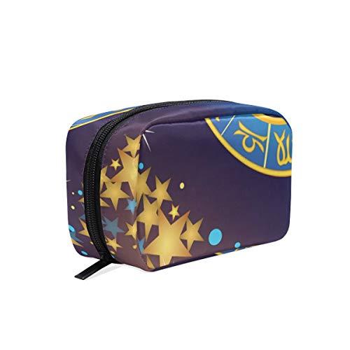LORONA Zodiac Sign Star Symbool Ram Cosmetische Pouch Koppeling Make-up Bag Travel Organizer Case Toilettas voor Vrouwen