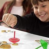 ZOEON 30 Stück Spielzeugkreisel aus Holz, Farbenfroher Bemalung Kreisel aus Holz für Kinder - 2