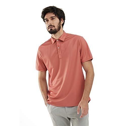 Sepiia Anti-Odour Quick Dry Breathable Short Sleeve Polo Shirt for Men