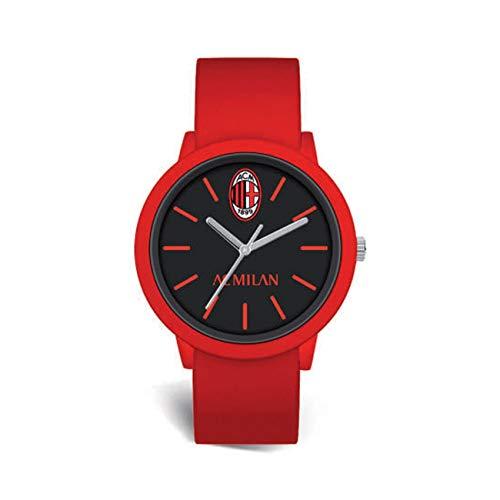 Orologio MILAN P-mr458un1 Prodotto Ufficiale Cinturino Rosso