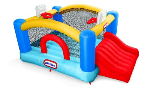 Little Tikes Jr. Sports and Slide Bouncer