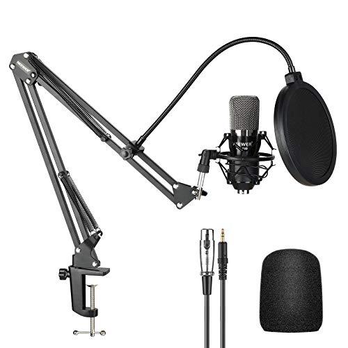 Neewer NW-700 Micrófono Condensador Pro Estudio Grabación de...
