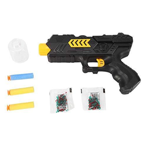 zhuolong Pistola de Juguete, Bala Suave de plástico 2 en 1, Pistola de Juguete de Cristal de Agua, Pistola de Dardos de Espuma, Juguetes de Verano para niños
