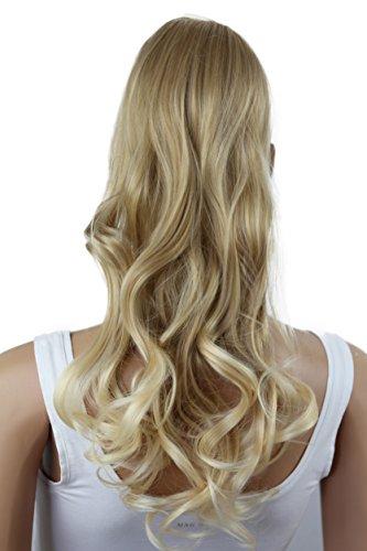PRETTYSHOP Haarteil hairpiece Zopf Pferdeschwanz Haarverlängerung 60cm gewellt diverse Farben HC5-1