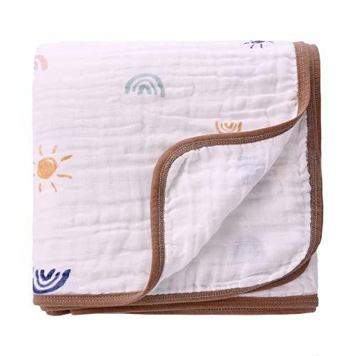 Miracle Baby Mussola,150 * 110cm,Coperta in cotone, Telo bagno, Regalo per bambini,...