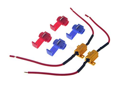 Unipower TMT LEDs (TM) Kit de 2 Résistances Canbus pour suppression d'erreur de commande centrale 10 W 39 ohms