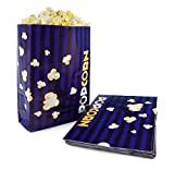 Snappy Popcorn Flat Bottom Theater Popcorn Bags, 170 oz, 500 Count