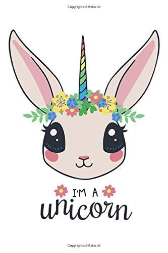 I'm a unicorn: BULLET JOURNAL Notizbuch für Notizen, Termine, Skizzen, Zeichnungen oder Tagebuch   für Mädchen & kleine Prinzessinen   Geschenk zu ... gepunktetes Papier   A5 Format   Soft Cover]