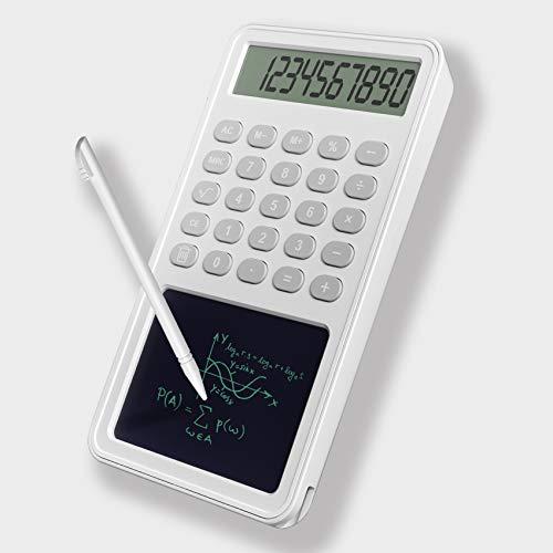 電卓 計算機 簿記 電子メモパッド 繰り返し充電可 関数 12桁 人気 ポケットサイズ 軽量 おしゃれ LCD液晶 両用 ビジネス電卓 税計算 電卓 ミニ 手帳 多機能コンパクト 学習