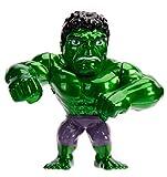 Jada Toys 253221001 Marvel Hulk Figur aus Druckguss, 10 cm, grün metallic, No Color
