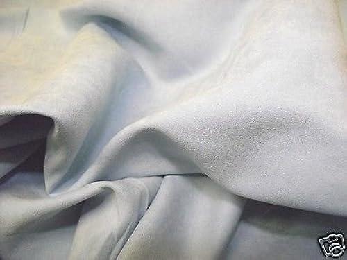 Kunstwildleder Suedette Gewebematerial Seide hellblau - alle Grün Mengenrabatt - Blau, 10Mtr - 1000cmx150cm