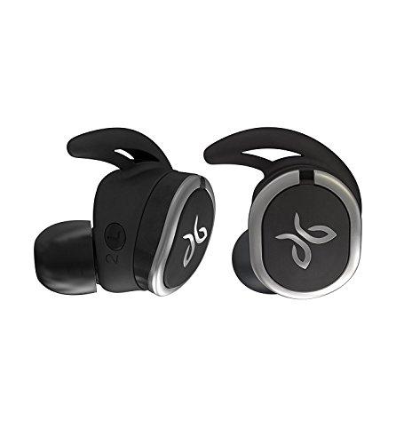 Jaybird Run Kabellose In-Ear Kopfhörer, Bluetooth, Schweißbeständig & Wasserdicht, 12-Stunden Akkulaufzeit, Sport-Fit, Smartphone/Tablet/iOS/Android - Jet/Schwarz