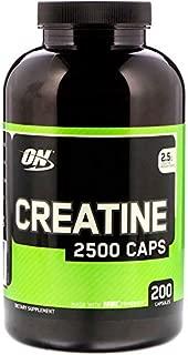 オプティマムニュートリション(Optimum Nutrition) クレアチン2500キャップス、200カプセル [並行輸入品]