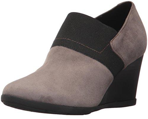 Geox D Inspiration Wedge, Zapatos de Tacón Mujer, Marrón (Chestnut),