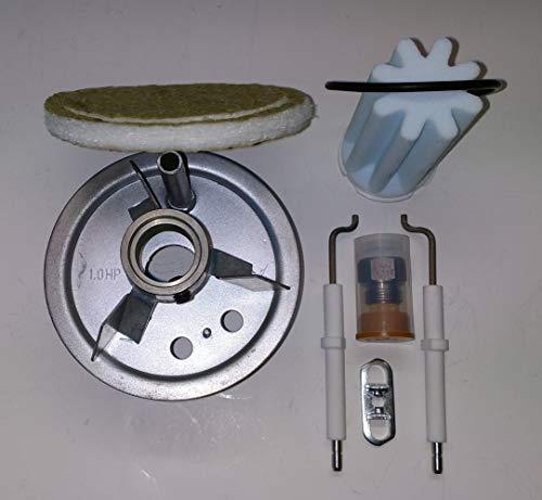 Buderus Mischsystem komplett Set 1.0 HP BRE 1.0-17 kW geeignet für schwefelarmes Heizöl mit Anleitung