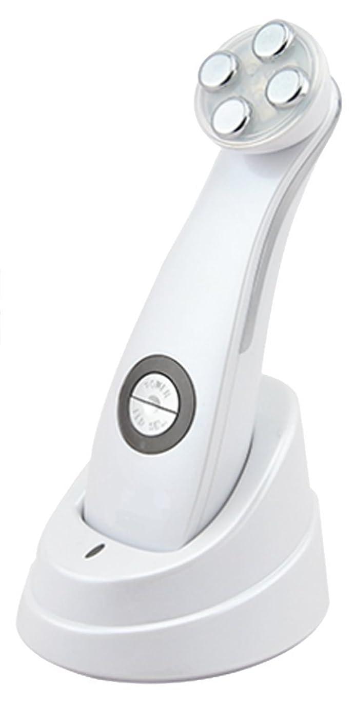 軸ゆでるクリスチャン美顔器 Dr. Witch ビューティフェイスマシン ホワイト 軽量 1機5役 EMS メソポレーション エレクトロポレーション RF LED