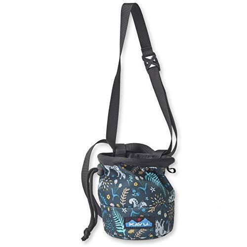 KAVU Peak Seeker Chalk Bag for Rock Climbing, Gymnastics, and Weightlifting - Fairy Trail