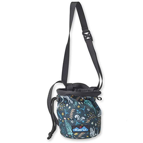 KAVU Peak Seeker Chalk Bag for Rock Climbing, Gymnastics, and Weightlifting - Fairy Trail