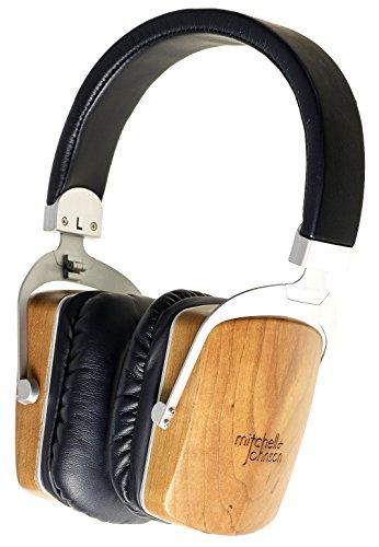 Mitchell and Johnson MJ2 Tragbarer Audiophiler Elektrostatischer Kopfhörer Chrom/schwarz