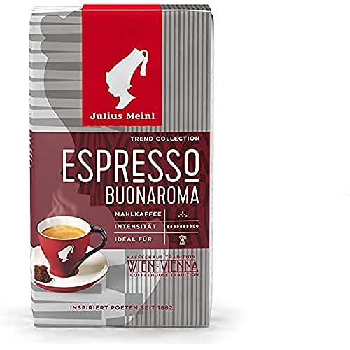 Julius Meinl Trend Collection Espresso Buonaroma Macinato Caffè - 250 g