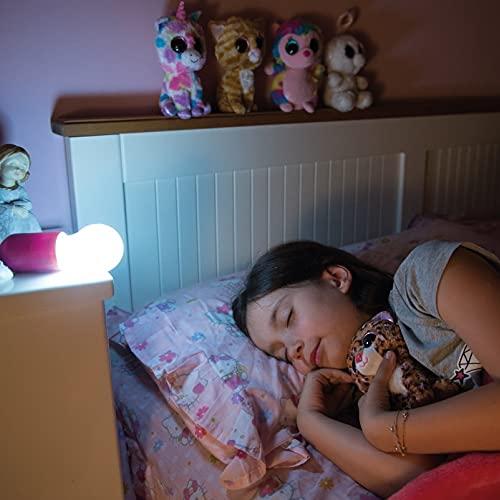 Handy Lux Colors kabellose LED Leuchte in 4 Gehäuse Farben   8 Stück Lampen   Safe touch Oberfläche   Bruchfest   Garten, Camping, Party, Kleiderschrank   Das Original aus dem TV von Mediashop - 5