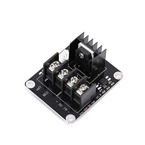 Soulitem Accesorios de Impresora 3D Módulo de alimentación de Cama con calefacción Mosfet MKS para Anet A8 A6 A2 Prusa i3
