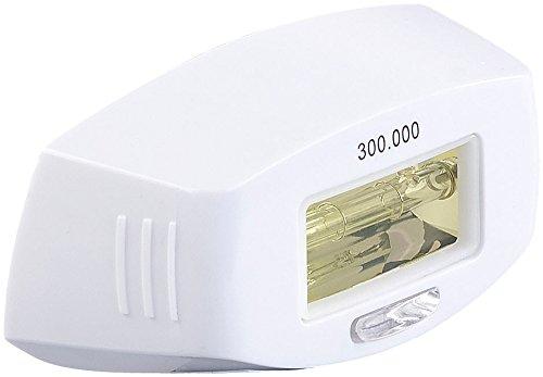 Sichler Beauty Zubehör zu IPL-Enthaarungs-Gerät: Licht-Aufsatz für Haarentferner IPL-130.lcd, 300.000 Impulse (IPL-Haarentferner mit Blitzlampen)