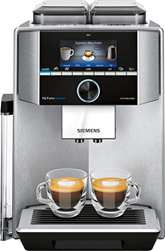 Siemens TI957FX1DE EQ.9 plus connect s700 Vollautomat, silber