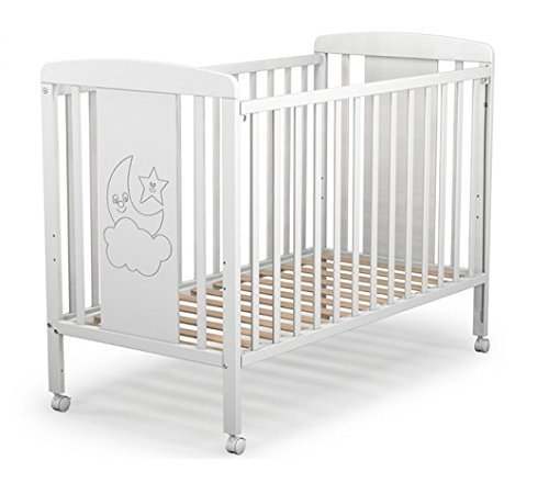 Cuna para bebé, modelo cielo. Incluido el colchón (regalo de una sonatina y caja musical)
